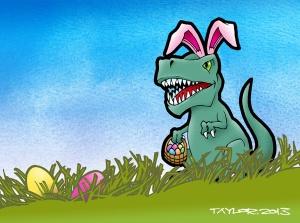 TRex_Easter