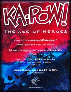 Ka-Pow Promo Poster
