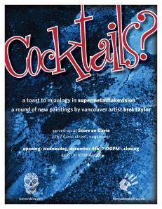 Cocktails Promo Poster