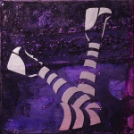 Stripes 02 (6x6 inches) - was $65, now $35