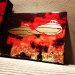 Cloud City Bipod (8x6 inches) - SOLD