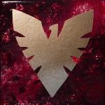 Dark Phoenix (6x6 inches) - SOLD