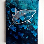 Great White (8x10 inches) - was $140, now $80