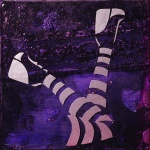 Stripes 02 (6x6 inches) - was $70, now $30