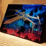 X-Wing Left (8x6 inches) - SOLD