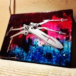 X-Wing Right (8x6 inches) - SOLD