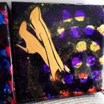 Batgirl Boots - 6x6 inches, $70