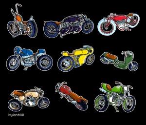9 Bikes