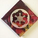 Galactic Empire: 6x6 inches, $70.