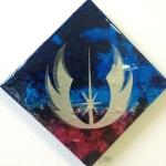 Jedi Order: 6x6 inches, $70