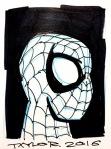 Spider-Man: 4x5.5 inches, $40