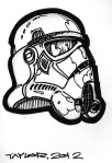 Storm Trooper: 4x5.5 inches, $40